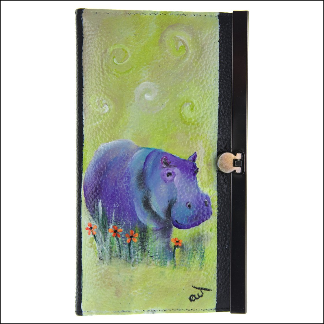 purple hippopotamus